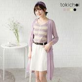 東京著衣-多色春夏百搭針織罩衫(180808)