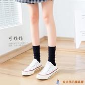 天鵝絨小腿襪女中筒絲襪春秋日系JK襪子薄款過膝長襪長筒【公主日記】