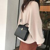 包包冬單品百搭素色氣質休閒手提包側背斜背包兩背帶包女 愛麗絲精品