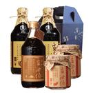 【台灣源味本舖】豆油伯暢銷禮盒C(缸底2+金豆醬1+豆瓣2)