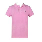 【南紡購物中心】Ralph Lauren 經典刺繡小馬短袖POLO衫-粉