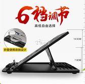 電腦螢幕架 筆記本支架托桌面蘋果散熱架折疊電腦辦公室升降增高底座架子 俏腳丫