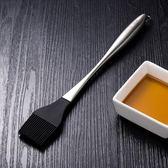 食品級硅膠刷耐高溫燒烤刷油刷不掉毛304不銹鋼廚房油刷烘焙刷子 熊貓本