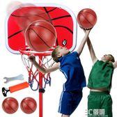 籃球架 成人 家用 訓練 兒童家用兒童藍球投藍框籃球架男孩學生igo 3c優購