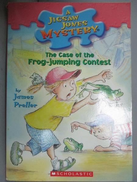 【書寶二手書T2/百科全書_JPM】The Case of the Frog-jumping Contest_Prell