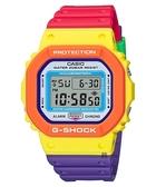 CASIO 卡西歐 G-SHOCK 運動 DW-5610DN-9 手錶 撞色設計