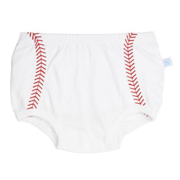 包屁褲 RuffleButts 小男童包屁褲-棒球款 BBKWH-BRAS