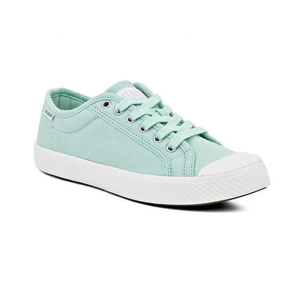 【南紡購物中心】【PALLADIUM】UNISEX PALLAPHOENIX OG CVS 帆布鞋 / 蒂芬妮綠 男女鞋