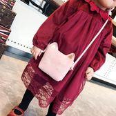 女童側背包韓版新款潮小包包女孩零錢包公主時尚包卡通可愛兒童包范思蓮恩