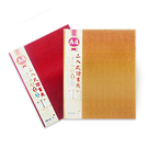 Boman 寶美 M91375 A4二入式金屬皮證書夾