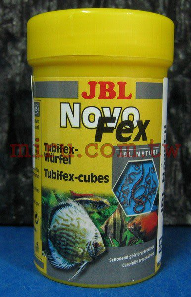 【西高地水族坊】德國JBL NovoFex高蛋白營養絲蚯蚓(250ml)
