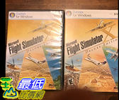 [106美國直購] 二手良品 Microsoft Flight Simulator X Deluxe Edition 2006 With Product Key Code PC Game