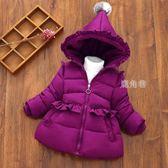 兒童羽絨服 寶寶反季棉衣女童冬裝加厚1-3-5歲兒童裝棉服外套嬰幼兒羽絨棉襖 鹿角巷