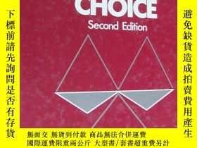 二手書博民逛書店Judgement罕見and Choice 英文原版 精裝16開Y85718 Robin M. Hogarth