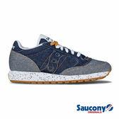 SAUCONY JAZZ O DENIM 經典復古鞋款-深藍