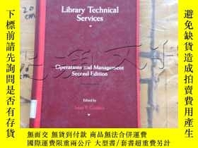 二手書博民逛書店Library罕見Technical ServicesY2524