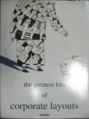 【書寶二手書T4/廣告_YFN】The Greatest Hits of Corporate Layouts_Liang
