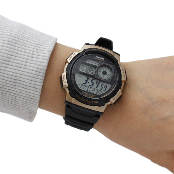 【CASIO宏崑時計】CASIO卡西歐復古電子錶 AE-1000W-1A3 生活防水  台灣卡西歐保固一年