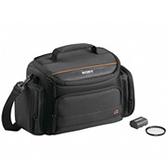SONY 專用配件組 ACC-AMFH 內含:軟質攜行包、專用鋰電池、保護鏡各乙個