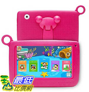 [106美國暢銷兒童軟體] NPOLE Kids Tablets Android 7 Inch 1280x800 IPS Display with Parental Control Software