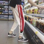 ifashion男褲子韓版潮流嘻哈休閒褲潮牌九分褲男ins超火的運動褲igo   酷男精品館