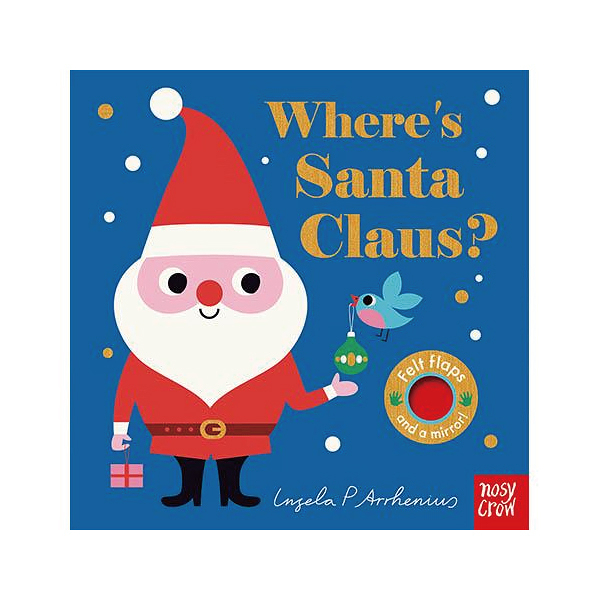 Where's Santa Claus? 聖誕老公公在哪裡? 不織布翻翻書