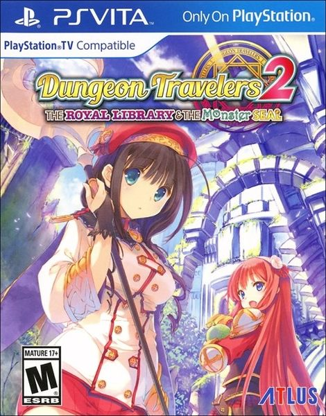 PSV Dungeon Travelers 2: The Royal Library & the Monster Seal 迷宮旅人 2(美版代購)