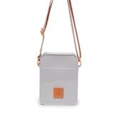 Petite Jolie  字體塗鴉背帶果凍相機包-白/橘