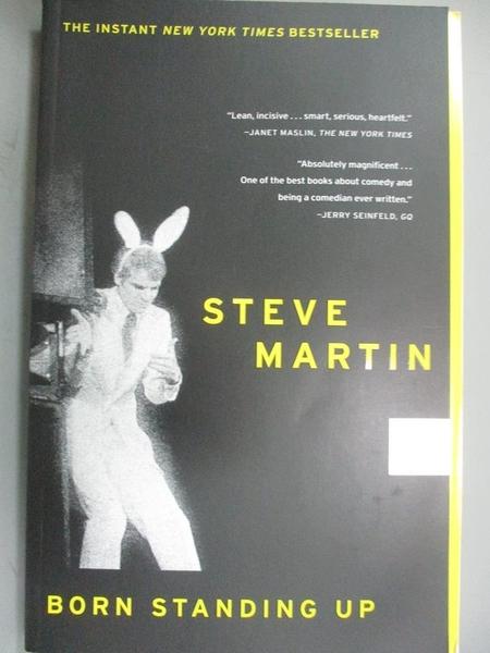 【書寶二手書T5/傳記_HIJ】Born Standing Up_Martin, Steve