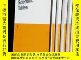 二手書博民逛書店Geigy罕見Scientific Tables 1~5Y201