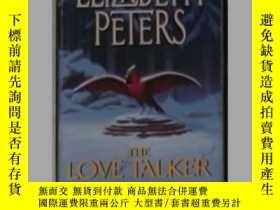 二手書博民逛書店英文原版罕見The Love Talker by Elizabe