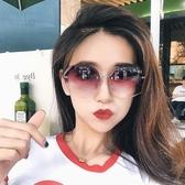 女士墨鏡太陽鏡眼鏡防紫外線【步行者戶外生活館】