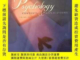 二手書博民逛書店Psychology:罕見Contexts and Applic