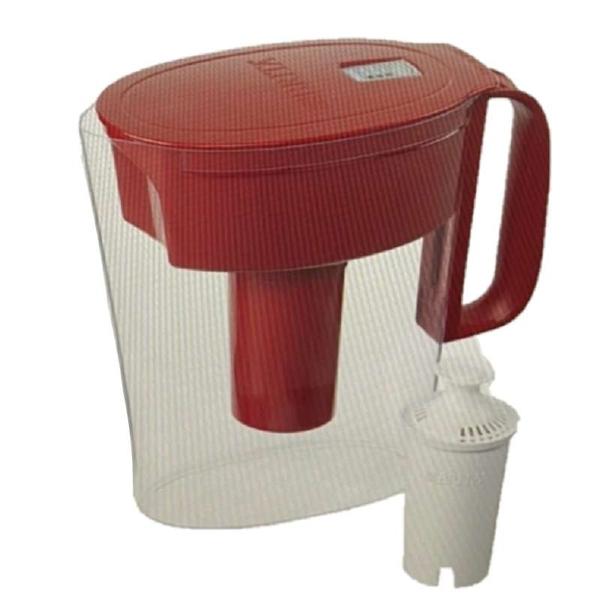 [9美國直購] Brita Metro Water Pitcher 輕型水壺 含1個6個月長效型濾芯 Longlast 5Cup 2000ml 白/湖水綠/紅