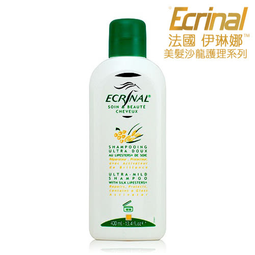 【法國 伊琳娜ECRINAL】葡萄籽洗髮精(400ml)♥清潔、修護及滋養♥