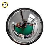 廣角鏡 二分之一球面反光鏡凸面超市防盜鏡開闊視野安全倉儲鏡 【免運】