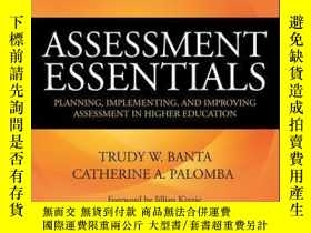 二手書博民逛書店Assessment罕見Essentials: Planning, Implementing, and Impro