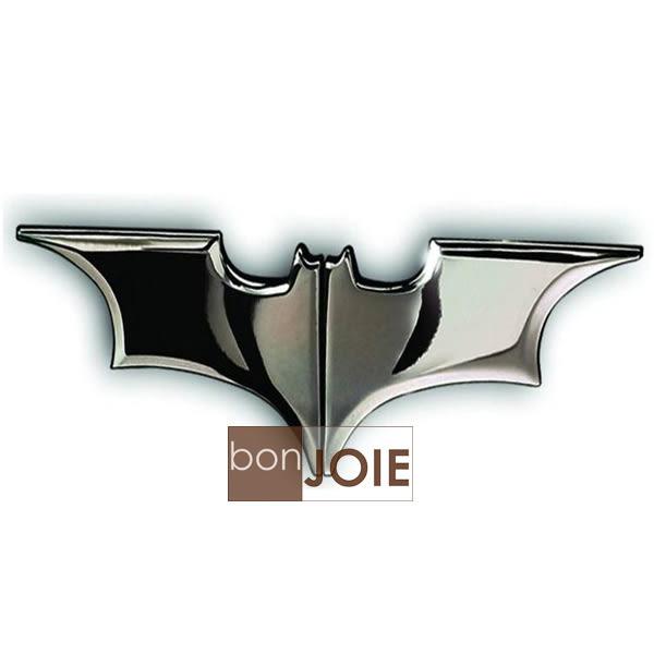 ::bonJOIE:: 美國進口 GuDeKe 磁吸式 亮面款 黑銀色蝙蝠俠 鈔票夾 (全新) 錢夾 Batman 黑暗騎士