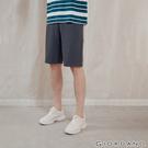 布料輕薄不悶熱 鬆緊抽繩褲頭,適合各種身形