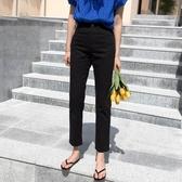 黑色煙管牛仔褲女2020年夏季新款薄款寬鬆顯瘦百搭九分直筒長褲子 智慧e家