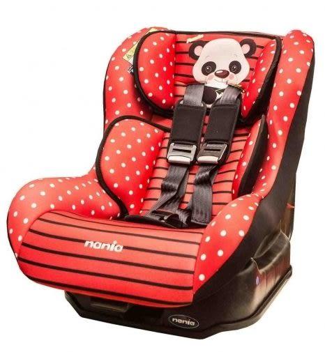 『121婦嬰用品館』納尼亞 0-4歲 安全汽座卡通動物系列-熊貓紅(FB00296)