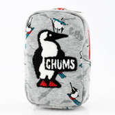 【CHUMS】Vertical Pouch Sweat 收納包 Booby 滑雪-CH602809Z131