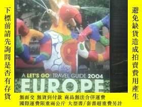 二手書博民逛書店Let s罕見Go Europe 2004Y269331 Let