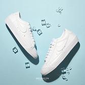 NIKE 休閒鞋 BLAZER LOW 77' 全白 皮革 女 (布魯克林) DC4769-101