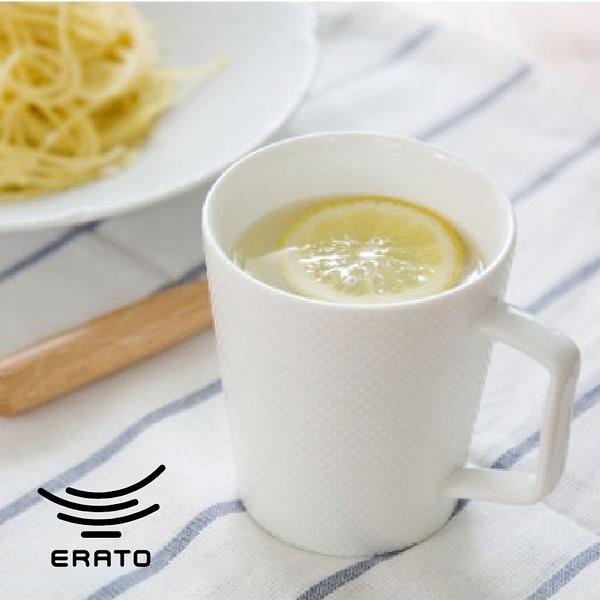 韓國ERATO白色系列水杯茶杯早餐情侶牛奶杯幾何點點條紋馬克杯(4款任選)