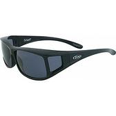 【近視專用】ZIV ELEGANT 太陽偏光眼鏡 S100001 『黑框/灰片』