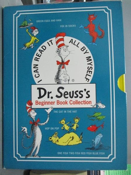 【書寶二手書T6/少年童書_QKY】Dr. Seuss's Beginner Book Collection_Seuss
