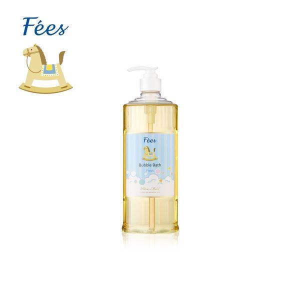 【Fees法緻】嬰兒柔護泡泡露-清新香600ml / 洗髮沐浴 泡泡浴 泡澡