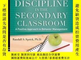 二手書博民逛書店Discipline罕見In The Secondary Classroom With Dvd: A Positi