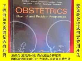 二手書博民逛書店Obstetrics:罕見Normal and Problem